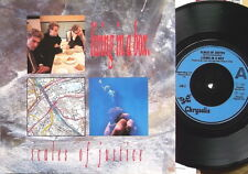 """LIVING IN A BOX, SCALES OF JUSTICE /ECSTASY-UK 7"""" PS 1987-Excellent"""