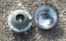 JEEP OEM ROUND HEADLIGHT ASSEMBLY (SET OF 2) >  CJ5, CJ6, CJ7, CJ8, C104 > NOS