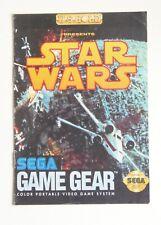 Notice Star Wars Sega Game Gear Us