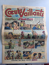Coeurs Vaillants N°6 DIMANCHE11 FÉVRIER 1951 BE
