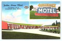 Vintage 1940s Shamokin Dam Pennsylvania PA Golden Arrow Motel US 11 Postcard D23