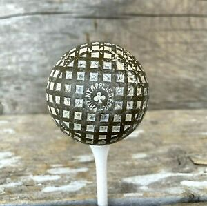 "Old ViNtAgE Antique MESH GOLF BALL  "" Club ""  "" Patent Applied For """