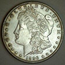 1896 Morgan Silver One Dollar US $1 Type Coin Uncirculated Philadelphia #JC-3