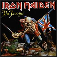 OFFICIAL LICENSED - IRON MAIDEN - THE TROOPER SEW ON PATCH METAL EDDIE