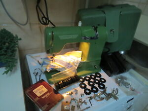 Vintage Elna Supermatic Lever Knee Operated Sewing Machine