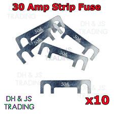 10 x 30A Amp Strip Fuse Link Midi Diesel Glow Plug Relay Classic Car Truck TVR