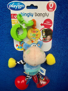 Playgro Toy Box Dingly Dangly Clip Clop Baby Stroller Carseat Horse Activity Toy