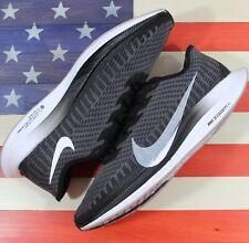 Nike Zoom Pegasus Turbo 2 Running Shoes Black/Gray/White [AT2863-001] Men's 11.5