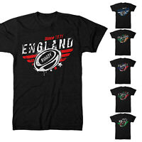 Rugby Nations T Shirt 2019 Six 6 England Wales Supporters Ireland Men Kid Gift