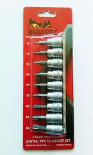 """TENG TOOLS M3813TPX 9 Piece, 3/8"""" Drive Torx Socket Set 68840107"""