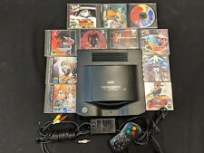 Japanese NeoGeo CD System with 11 Games