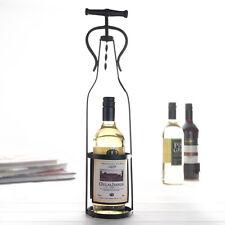 Large Metal Wine Bottle Holder Wine Bottle Design Storage Holder REDUCED