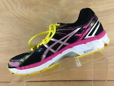 Asics Gel-GT2000 TP38N Womens Black Lace Up Running Shoe U.S. Size 7.5