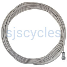 Stainless Steel 1.6 mm Pear Nipple Tandem Brake Cable Wire - 3.5 metres Long