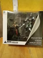 Cyborg Vs Harley Quinn Injustice Gods Among Us Action Figures NIB