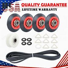 Dryer Repair Kit Roller Pulley Belt For Whirlpool KitchenAid 4392067 W10314173