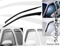 Light Tinted Out-Channel Vent Visor Deflector 2pcs For 1994-2004 Ford Mustang