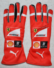 Fernando Alonso Signed 2014 Replica Racing F1 Gloves Pair