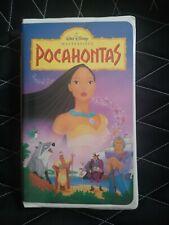 Walt Disney POCAHONTAS VHS (1996)/ Masterpiece Collection #5741