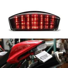 LED Tail Rear Light Turn Signals Smoke For 94-07 Ducati Monster Dark/S