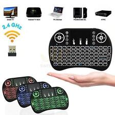 Backlight Mini i8 Wireless 2.4GHz Keyboard Remote Control Touchpad for PC TV Box