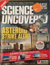 Science Uncovered Asteroid Strike Alert Pyramid Robots Aug 2014 FREE SHIPPING!