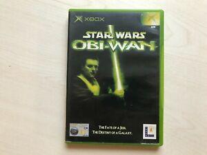 Star Wars: Obi-Wan (Microsoft Xbox, 2002) Game UK PAL USED