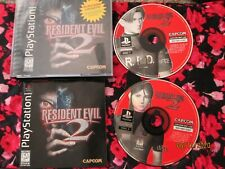 RESIDENT EVIL 2 Dual Shock Black Label Sony Playstation 1 PS1 Video Game