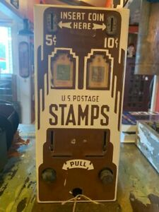 1930's Stamp Machine with Lead Stamps