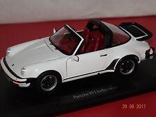 Porsche 911 Turbo Targa 1987 blanc. 1:18 Norev 187660 NOUVEAU & NEUF dans sa boîte