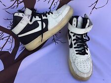 🔥VINTAGE NIKE AIR FORCE 1 HIGH TOP DUNK PREMIUM iD 574262 GLOW IN DARK SIZE 9