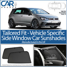 VW Golf Mk7 5dr 2013> CAR SHADES UK TAILORED UV SIDE WINDOW SUN BLINDS PRIVACY