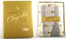 Sears Cling-alon Nylon Stockings Hose B 10-11 Dusk Color With Box NOS Never Worn