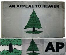 3x5 Embroidered An Appeal To Heaven 210D Nylon Flag 3'x5' Grommets