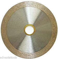 "4"" Continuous Rim Wet Tile Diamond Saw Blade for Angle Grinders - Premium"