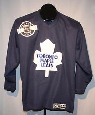CCM Toronto Maple Leafs NHL Hockey Jersey Youth Size Large / XL  Center Ice +