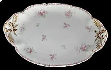 "RARE HAVILAND & CO LIMOGES FRANCE for RICHARD BRIGGS CO ~BOSTON~ 15 3/4"" PLATTER"