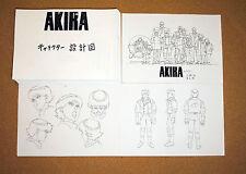 New listing Akira settei sheets