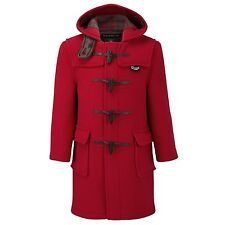 Gloverall - Original Duffle Coat - Red - Size 8 Years - Made in England