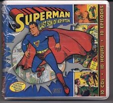 Superman – Last Son Of Krypton Radio Series CDs