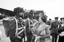 6x4 Photo ww10E3 Normandy GBCA 6th Air 19 May Queen Princess Elizabeth