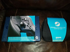 NEW Valve Steam Wireless Controller for PC SteamOS (Model 1001) + CASE