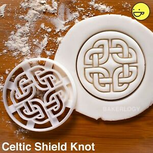 Celtic Shield Knot cookie cutter | Celts viking protection norse nordic runes