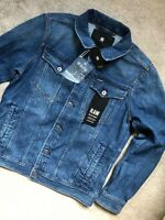 """G-STAR RAW MED AGED """"3301 DECONSTRUCTED"""" 3D SLIM JACKET COAT - LARGE - NEW TAGS"""