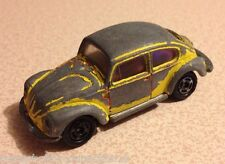Tomica Tomy VW Volkswagen Beetle Yellow Diecast Model Car 1:60 Scale