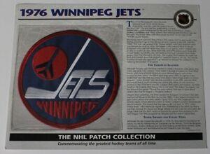 1976 Winnipeg Jets NHL Hockey Willabee & Ward Patch 68688