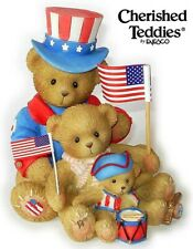 CHERISHED TEDDIES 2009 FIGURINE, SAMANTHA THEO TYLER USA EXCLUSIVE, 4012860, NIB