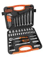 VonHaus Socket Set 90pc – Combo Tool Kit with Satin-Finished Tools & Storage Cas