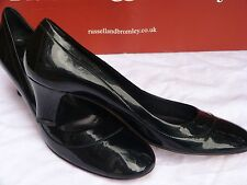 RussellBromley women's shoes size 6.5/39.5/narrow/sapatos/patent/RRP£185