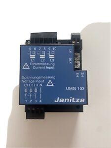 Janitza UMG 103 Universalmessgerät Module 5 Stück Vorhanden